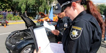 Новые штрафы для украинцев за не пристегнутый ремень безопасности