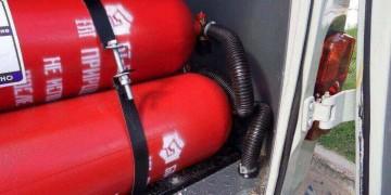 Вибір газового балона на авто з ГБО