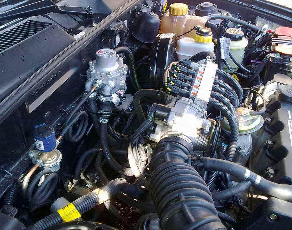 ГБО на авто 4-го поколения