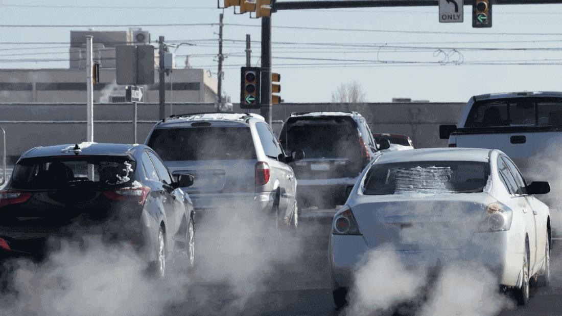 Выбросы в окружающую среду от автомобилей
