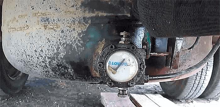 В чем причина обмерзания газового баллона